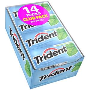Trident Mint Bliss Sugar Free Gum - 18 ct. - 14 pk.