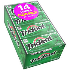 Trident Spearmint Sugar Free Gum - 18 ct. - 14 pk.