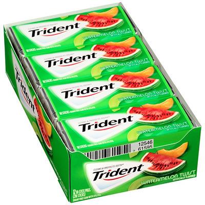 Trident Watermelon Twist Sugar Free Gum - 18 ct. - 14 pk.