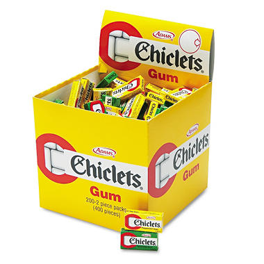 Cadbury Candy Coated Chiclets Gum