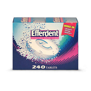 Efferdent� Denture Cleanser - 240 ct.