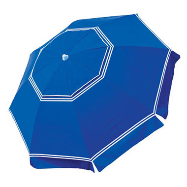 7' Beach Umbrella Anchor Blue