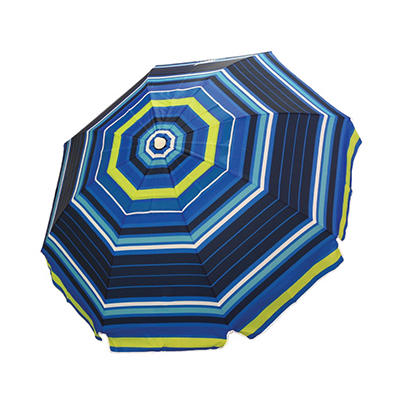Twilight Stripe Beach Umbrella