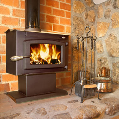 Small Wood Stove with Blower <br> EPA Certified
