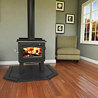 Vogelzang 1,200 sq. ft. TR001 Defender EPA-Approved Wood Stove with Blower and Ash Vacuum