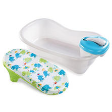 Summer Infant Newborn to Toddler Bath Center & Shower - Neutral