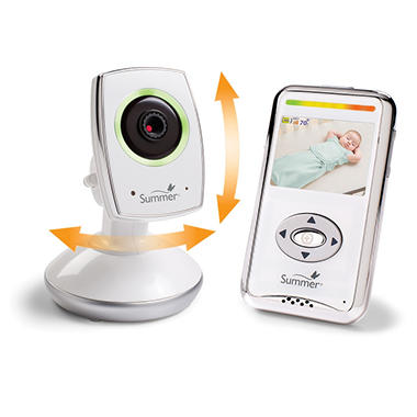 Summer Infant Baby Zoom WiFi: Video Monitor & Internet Viewing System