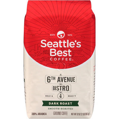 Seattle's Best Level 4 Ground Coffee (32 oz.)