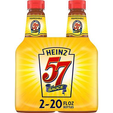 Heinz 57® Sauce - 20 oz. - 2 ct.