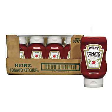 Heinz® USD Table Top Ketchup - 14 oz. - 16 ct.