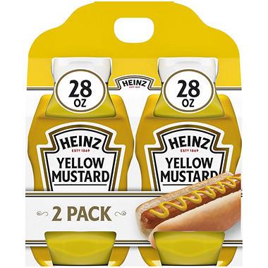 Heinz Yellow Mustard - 2 pk.
