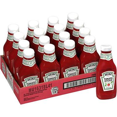Heinz Tomato Ketchup - 14 oz. - 16 pk.