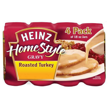 Heinz Homestyle Roasted Turkey Gravy - 18 oz. - 4 pk ...