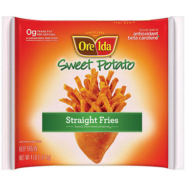 Ore-Ida Sweet Potato Straight Fries (4 lb.)
