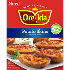 Ore-Ida Potato Skins, Cheddar and Bacon (32 oz.)
