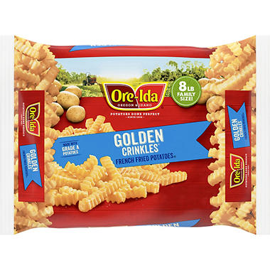 Ore-Ida Golden Crinkle French Fries - 8 lbs.