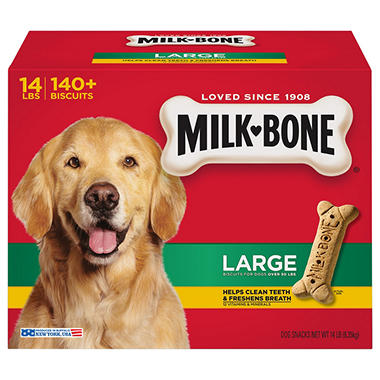 Milk-Bone Large Dog Biscuits - 14 lbs.
