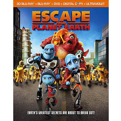 Escape From Planet Earth (Blu-ray) (Widescreen)