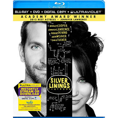 Silver Linings Playbook (Blu-ray + DVD + Digital Copy) (Widescreen)