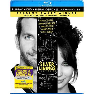 Silver Linings Playbook (Blu-ray + DVD + Digital Copy) (Widescreen)
