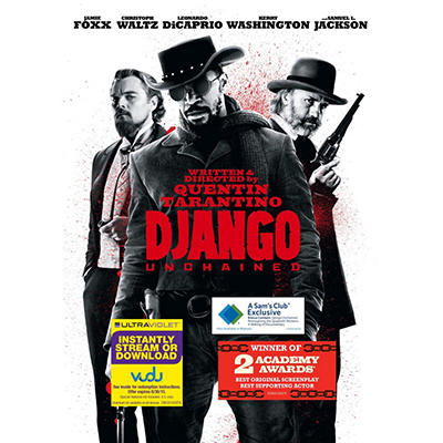 Django Unchained (DVD + VUDU UltraViolet Copy) (Walmart Exclusive) (Widescreen)