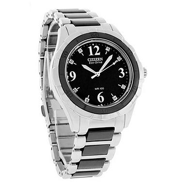 ECO-DRIVE CERAMIC MSRP $450.00