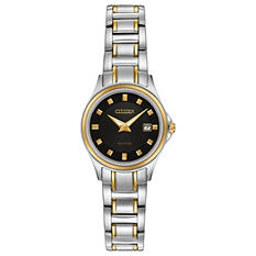 Citizen Eco-Drive Ladies' Two-Tone Silhouette Watch