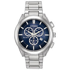Citizen Eco-Drive Men's Stainless Steel Chronograph