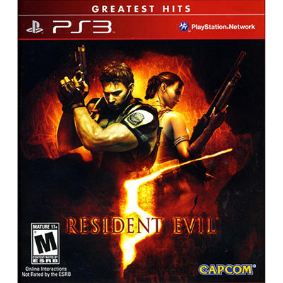 Resident Evil 5 Greatest Hits - PS3