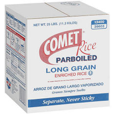 Comet Rice Parboiled Long Grain (25 lb.)