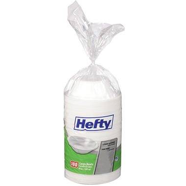 Hefty® Large Bowls - 20 oz. - 100 ct.