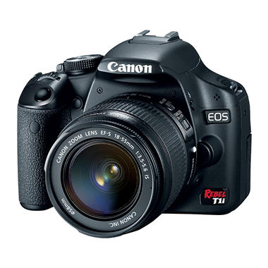 Canon EOS Rebel T1i 15.1MP Digital SLR Camera