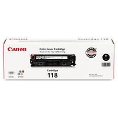 Canon 118 Toner Cartridge, Select Color