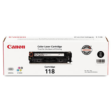 Canon 118 Toner Cartridge, Select Color  CNM2662B001
