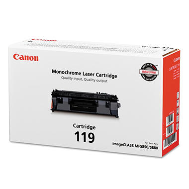 Canon 119 Toner Cartridge, Black, Select  CNM3479B001
