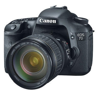 *$1,499 after $200 Instant Savings* Canon EOS 7D 18.0MP Digital SLR Camera with EF 28-135mm f/3.5-5.6 IS USM