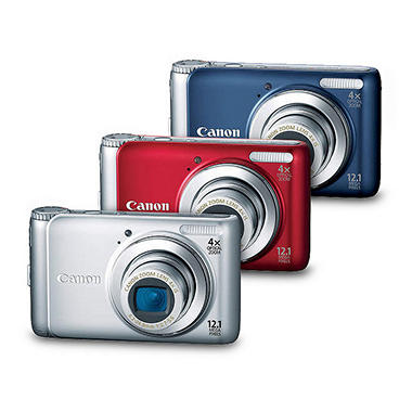 Canon PowerShot A3100 12.1MP Digital Camera - Silver