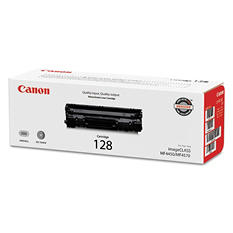 Canon 128 Toner Cartridge, Black (2,100 Page Yield)