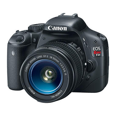 Canon EOS Rebel T2i 18.0MP Digital SLR Camera