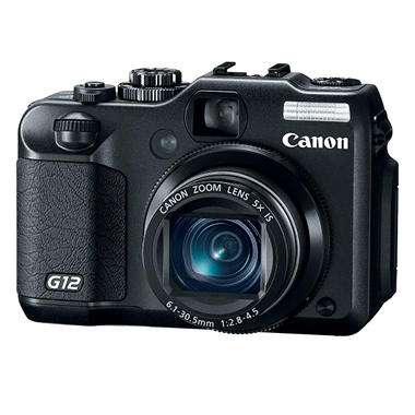 Canon G12 10MP Digital Camera