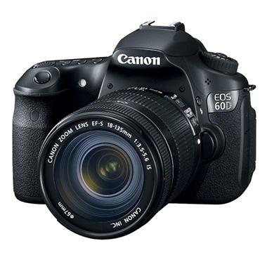 Canon 60D 18-135IS 18MP DSLR Camera