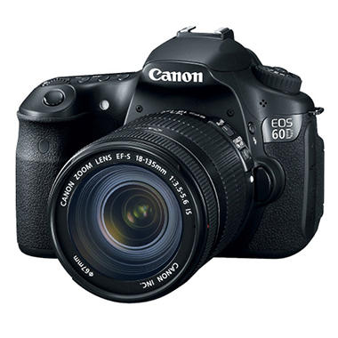 Canon 60D 18-135IS 18MP DSLR Camera