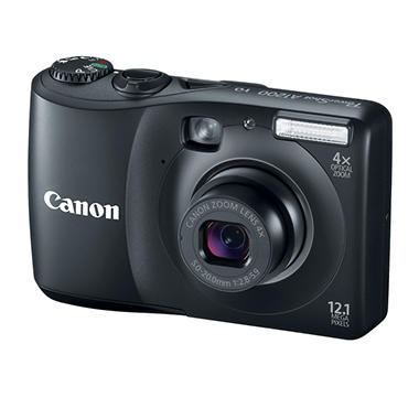Canon A1200 12.1MP Digital Camera - Black