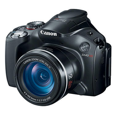 Canon SX40 12.1MP Long Zoom Digital Camera with 35x Optical Zoom