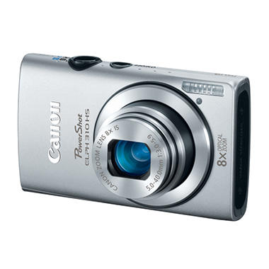Canon ELPH 310 12.1MP Digital Camera - Silver