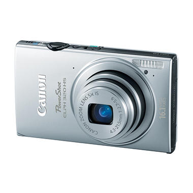 Canon ELPH 320 HS 16.1MP Digital Camera - Various Colors