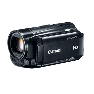 Canon HF M52 Full HD Camcorder with 10x Optical Zoom and 32GB Internal Memory
