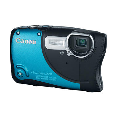 Canon D20 Waterproof 12.1MP Digital Camera