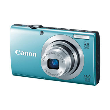 Canon A2400 16MP Digital Camera - Various Colors