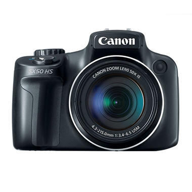 *$399 after $30 Tech Savings* Canon SX50 12.1MP Digital Camera with 50x Optical Zoom